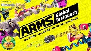 PROBANDO ARMS | NINTENDO SWITCH | BETA DE ARMS