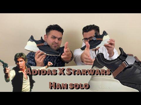 Adidas Starwars Han Solo - Review y Unboxing - 8 y 9