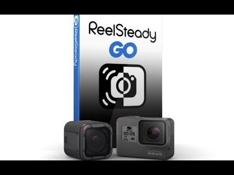 FIRST TEST WITH REELSTEADY GO AND GOPRO HERO6 HERO 6 REELSTEADYGO
