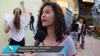 Jóvenes del proyecto 'Paz a lo bien' en Granada, trabajan en su acción de cambio