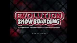 Nintendo GameCube Evolution Snowboarding (USA)