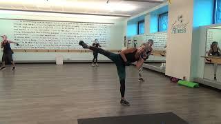Cardio Kickbox Intervals with Strength Bonus
