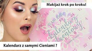 OTWIERAM KALENDARZ ADWENTOWY - Glam Shop Cienie - Makijaż krok po kroku