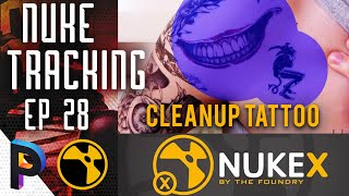 How to Cleanup Tattoo in Nuke , Cleanup TRACKING - NUKE KEYING Basic Fundamentals - EP 28 [HINDI]