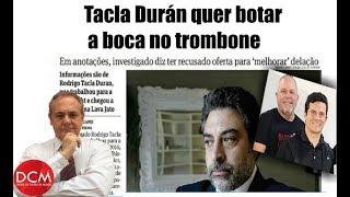 Exclusivo: Tacla Durán diz que está pronto para desmascarar farsa da Lava Jato