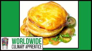 Sexy Summer Appetizer  -  Goat Cheese Wrapped In Flaky Dough  - French Recipe