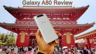 Samsung Galaxy A80 Review Using The Phone And Cameras In The US/TOKYO (The Good And The Bad)