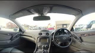 360° All Round Interior View of a 2006 Mercedes Benz SL Class 3 7 SL350 2dr BV06MYC