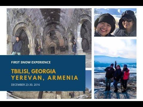A TRIP TO TBILISI, GEORGIA and YEREVAN, ARMENIA
