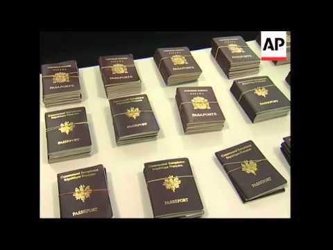 British man arrested allegedly smuggling fake EU passports