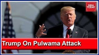 Trump Hits Out At Pakistan Over Pulwama Attack; Says Dangerous Situation Between India And Pak