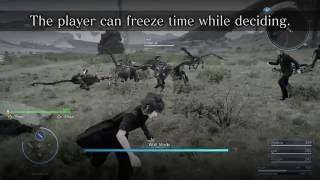Final Fantasy XV - Wait Mode - Trailer E3 2016