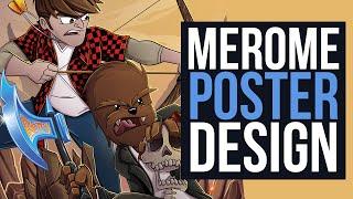 Merome Poster Design - @JeromeASF @Bajan_Canadian
