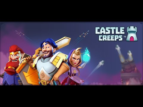 CASTLE CREEPS TD! CAVERN CLASH! Android Gameplay