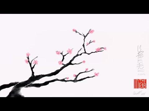 """""""SAKURA SUMI """" - Art & Music On An IPad  Pro"""