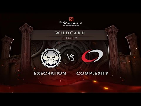 Execration vs Complexity - Game 2 - The International 6 Wildcard