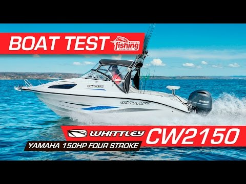 Boat Test: Whittley CW2150 with Yamaha F150 4 stroke
