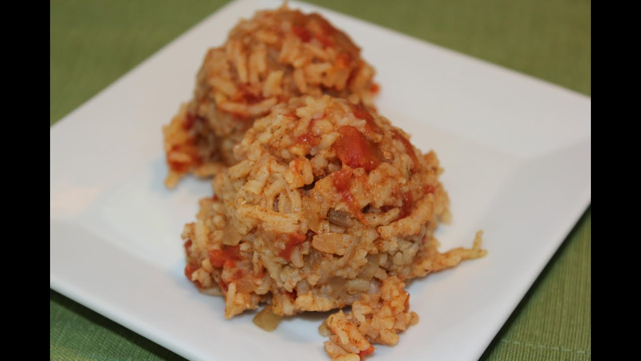 Rice cooker spanish rice youtube forumfinder Gallery