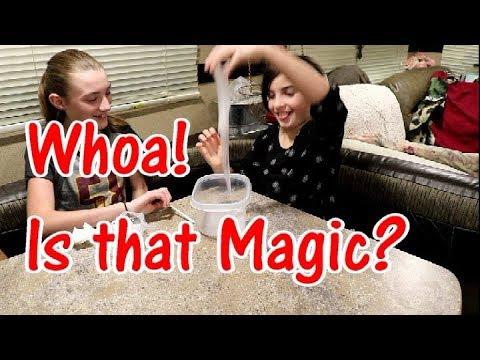 Is that Magic?  Slime FAIL  :  Fulltime RV Family Living Coast 2 Coast  :  #IAmACreator