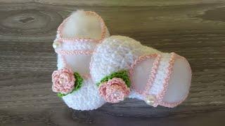 Scarpine neonato Uncinetto 3-6…