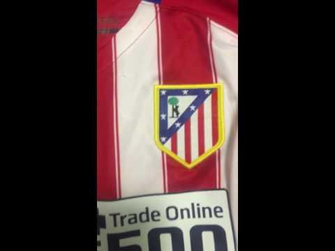 GoGoalShop.com Shirt Review 15/16 Atletico Madrid Long Sleeve Jersey
