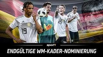 ReLIVE 🔴 | Endgültige WM-Kader-Nominierung mit Joachim Löw | SPORT1