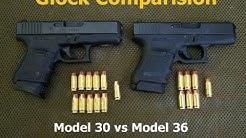Glock Model 30 vs Model 36