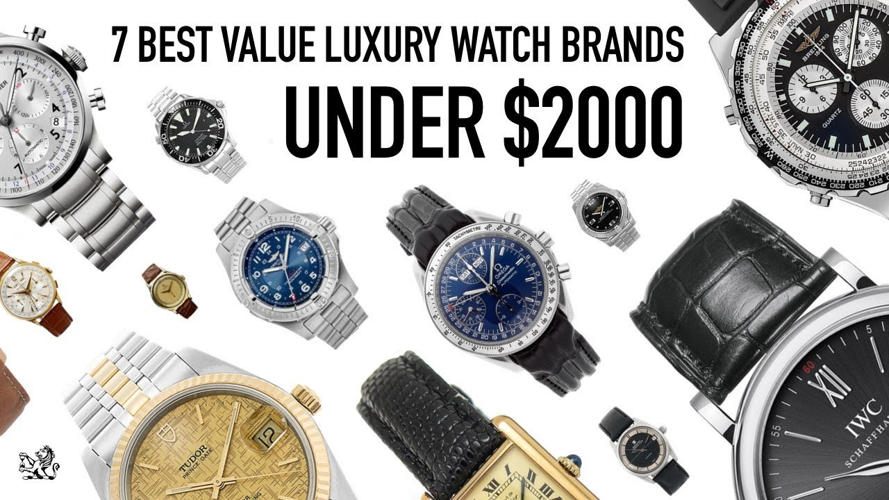 Top 7 Swiss Luxury Watch Brands Under 2000 The Best Value Used