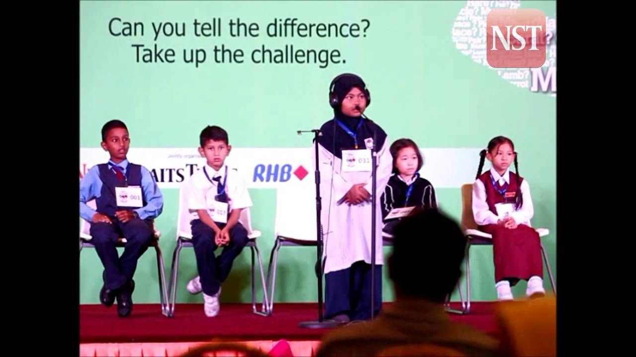 National Spell-It-Right Challenge 2014