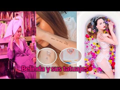 Belinda y sus tatuajes
