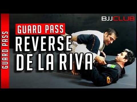 🆕 Reverse De La Riva Guard Pass with Luiz Panza 👉 BJJCLUB - BJJ