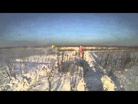видео: снегоходный сезон в тюмени 2014