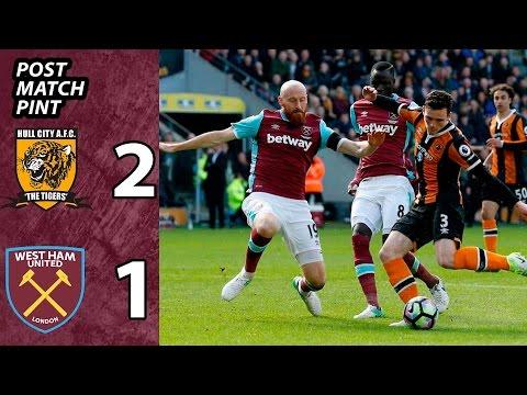 Hull City 2 - West Ham 1 | Post Match Pint