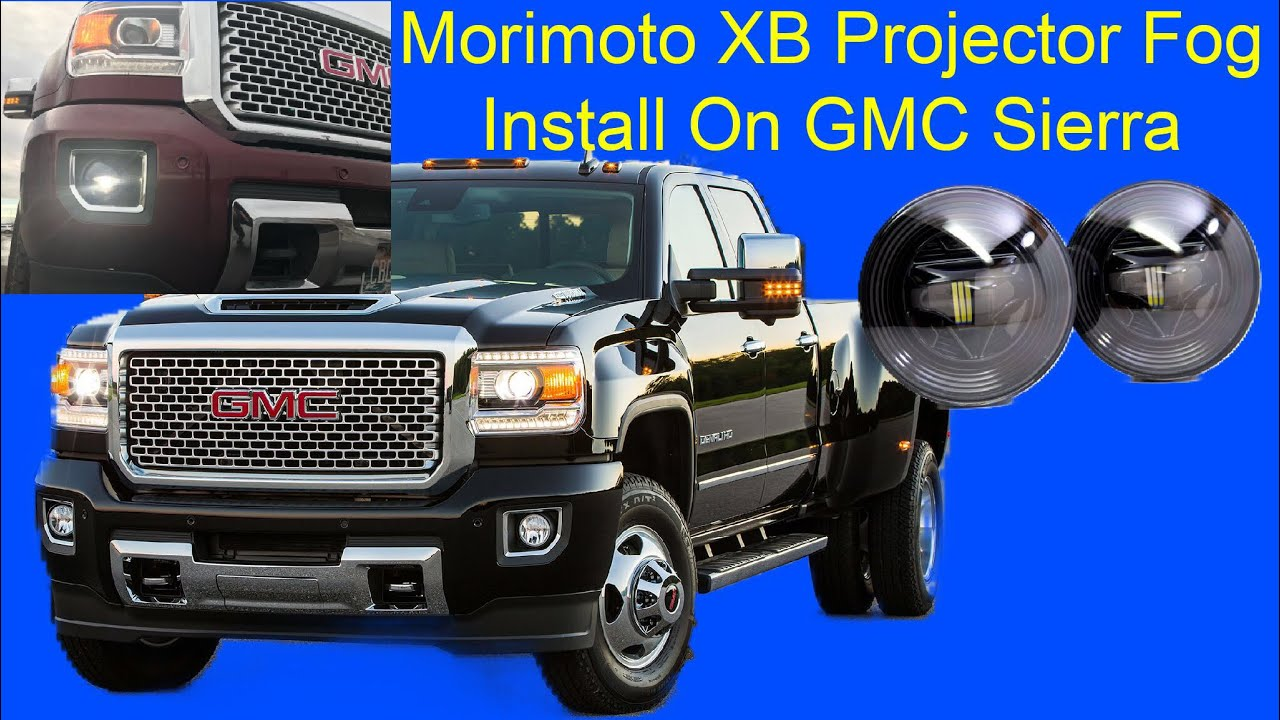 Morimoto Xb Led Projector Fog Light Install On 2015 Gmc