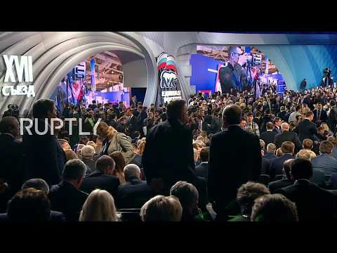 LIVE: Putin gives speech on 17th congress of United Russia