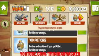 Swamp Attack Apk Mod Infinite Coins & Potion Hack 2014