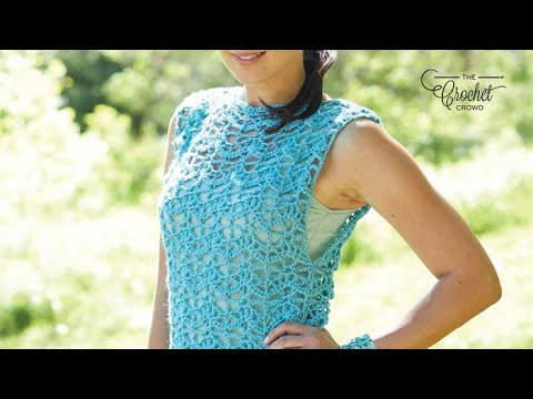 How To Crochet A 👚 Tunic: S - 5 XL