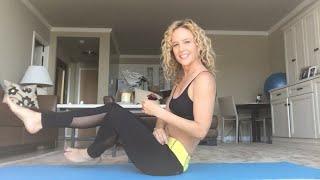 Yoga Pose: Boat Posture (Navasana)