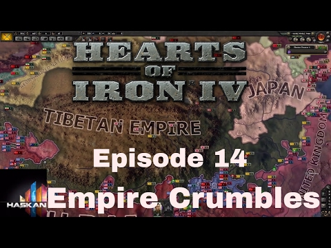 Hearts of Iron IV Tibet 14 Empire Crumbles