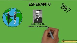 اللغات المخترعة (1) Constructed Languages - لغة إسبرانتو - Esperanto