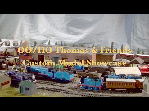Custom OO / HO Thomas & Friends Models Showcase – Ryan, Marion, Philip & More!