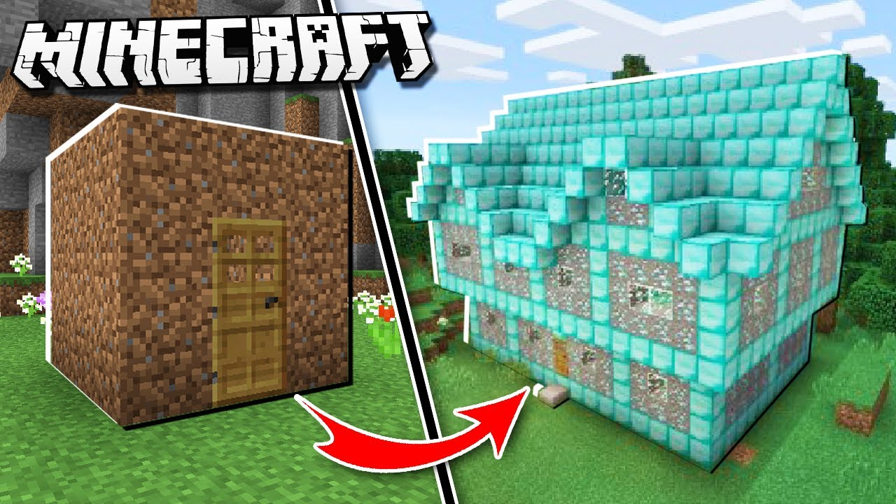 Noob House Vs Pro House In Minecraft Youtube