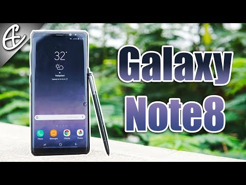 Samsung Galaxy Note 8 Review - Display Infinite, Performance Insane!