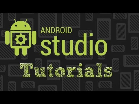 Android Studio Tutorials - Adding A Library Project