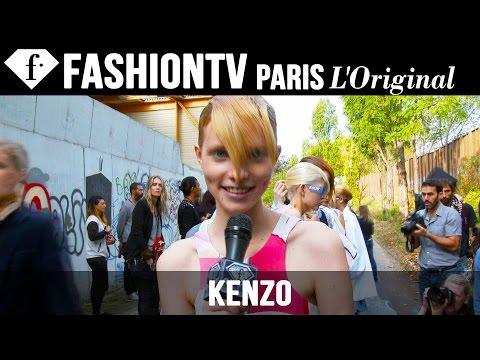 Kenzo Spring/Summer 2015 BACKSTAGE | Paris Fashion Week PFW | FashionTV