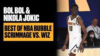 Bol Bol, Nikola Jokic Dominate First NBA Bubble Scrimmage vs. Wizards