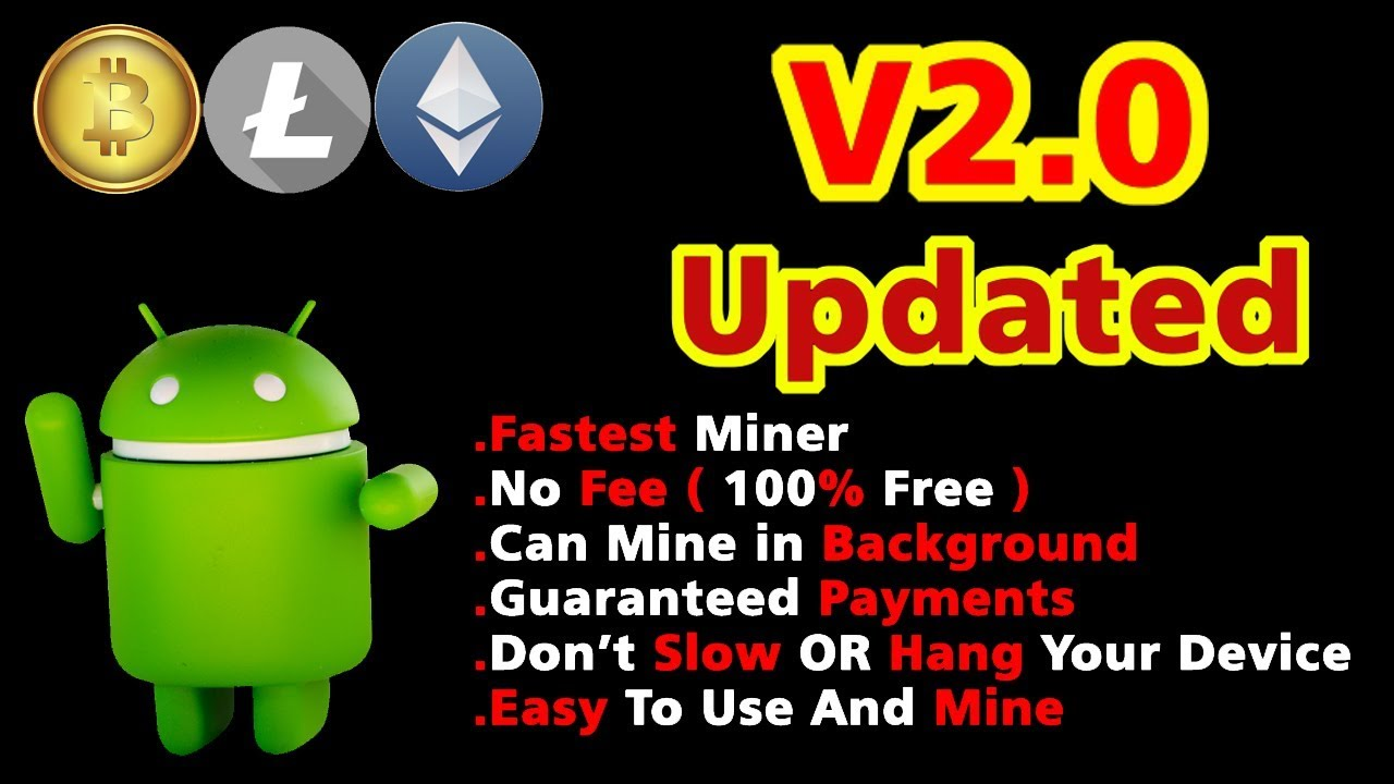 Free Android Cloud Miner V2 0|2019|Fastest|No Investment|Updated|Working