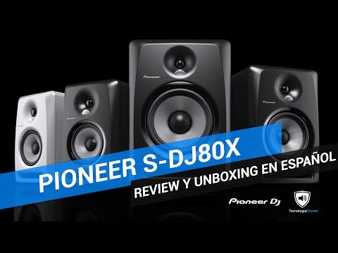 Review Pioneer S DJX80 Enero 2018 Youtube HD 1080