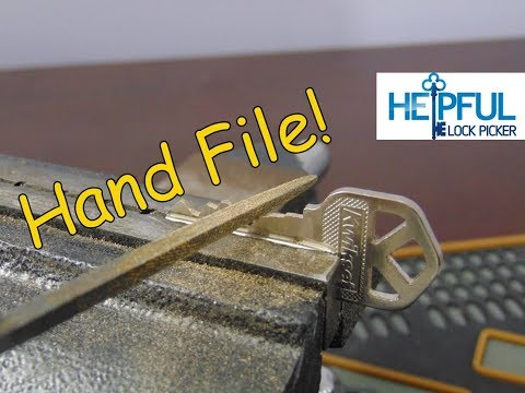 [116] DIY How To Hand File A Key