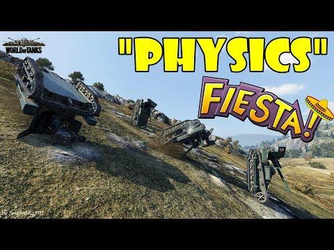 World of Tanks - Funny Moments | PHYSICS FIESTA! (April 2018) thumbnail